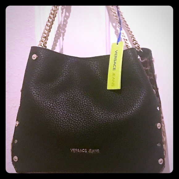 "67b482ff7d ""SOLD‼️SOLD‼️""NWT VERSACE JEANS purse. NWT"